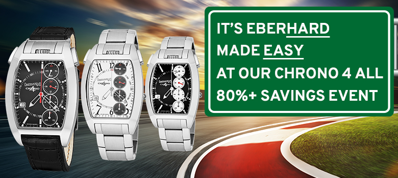 Eberhard Made Easy Sales Event