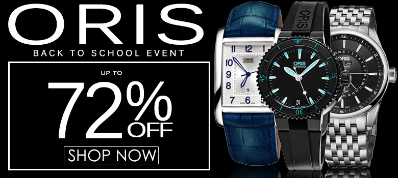 Oris Back To School Sale