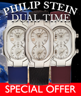 Philip Stein Dual Time Special Offer