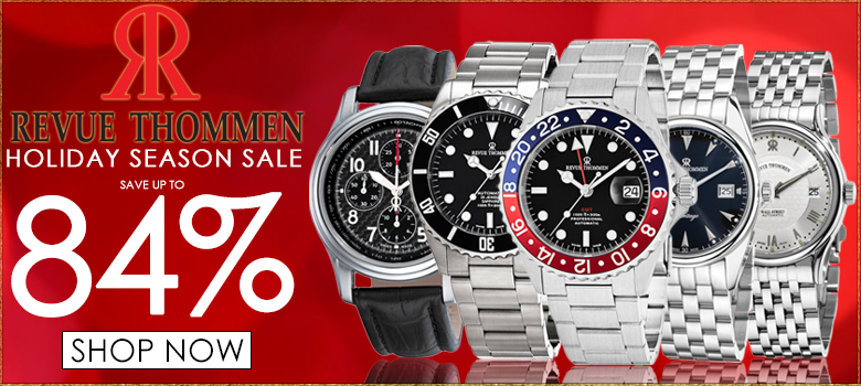 Revue Thommen Holiday Season Sales Event