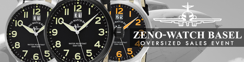 Zeno Oversized Watch Event