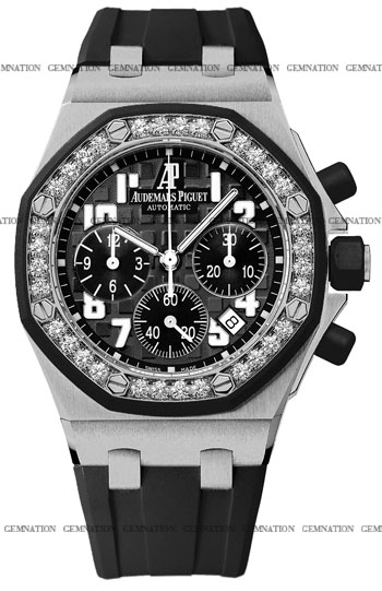 Audemars Piguet Royal Oak Offshore Ladies Watch Model 26048SK.ZZ.D002CA.01