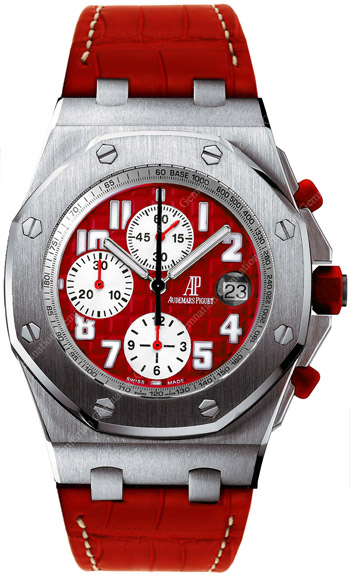 Audemars Piguet Royal Oak Offshore Mens Wristwatch Model: 26108ST.OO.D066CR.01