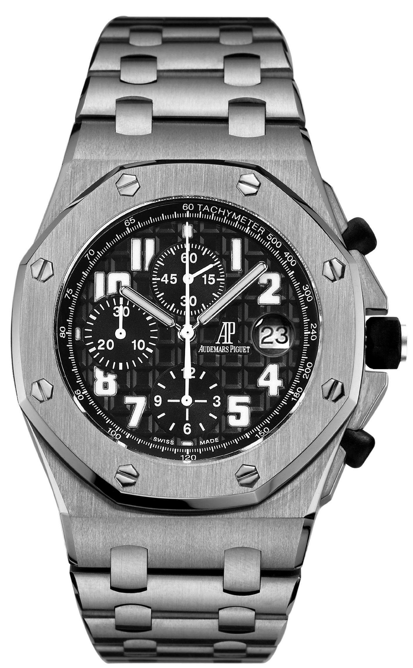 Audemars piguet royal oak offshore men 39 s watch model 26170st for Ap royal oak offshore chronograph