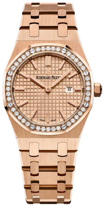 Audemars Piguet Royal Oak Ladies Watch Model 67651OR.ZZ.1261OR.03