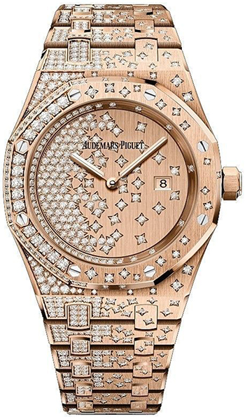 Audemars Piguet Royal Oak Ladies Watch Model 67654OR.ZZ.1264OR.01