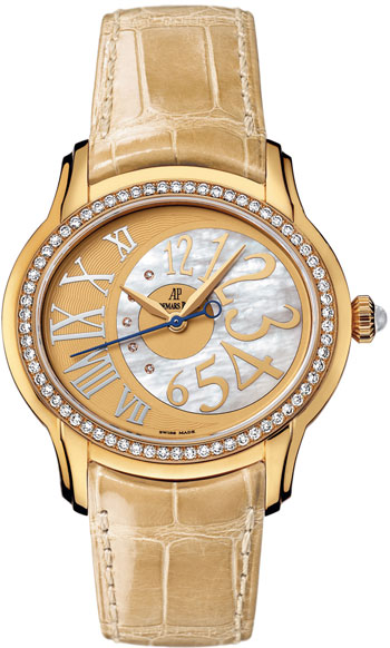Audemars Piguet Millenary Ladies Watch Model 77301BA.ZZ.D097CR.01