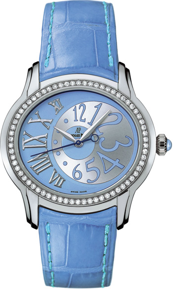 Audemars Piguet Millenary Ladies Watch Model 77301ST.ZZ.D303CR.01
