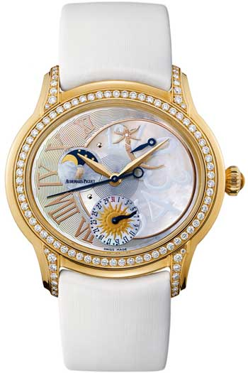 Audemars Piguet Millenary Ladies Watch Model 77315OR.ZZ.D013SU.01