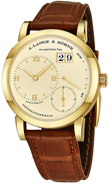 A Lange & Sohne Lange 1 Men's Watch Model 101.021