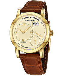 A Lange & Sohne Lange 1 Mens Wristwatch Model: 101.021