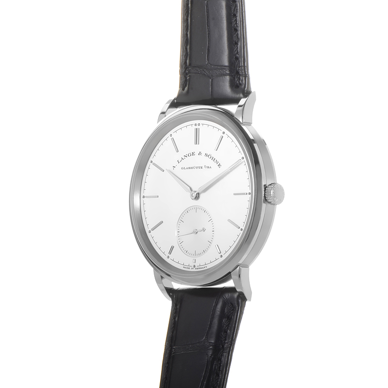 A Lange & Sohne Saxonia Men's Watch Model 380.026 Thumbnail 4