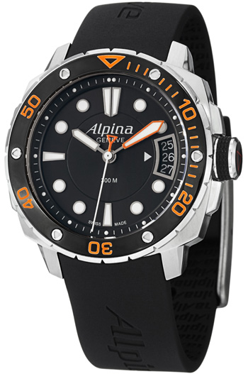 Alpina Seastrong null Watch Model AL-240LBO3V6