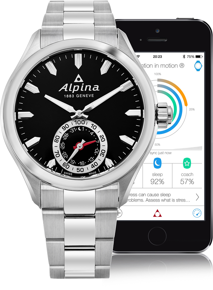 Alpina Horological Smart Watch Men's Watch Model AL-285BS5AQ6B Thumbnail 2