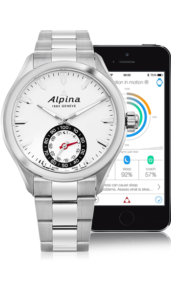 Alpina Horological Smart Watch Men's Watch Model AL-285S5AQ6B