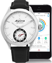 Alpina Horological Smart Watch Men's Watch Model: AL-285S5AQ6