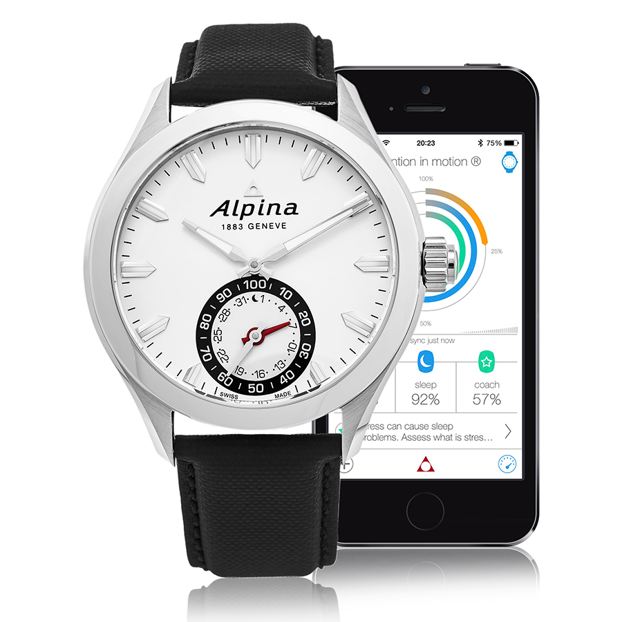 Alpina Horological Smart Watch Men's Watch Model AL-285S5AQ6 Thumbnail 2