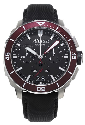 Alpina Seastrong Men's Watch Model AL-372LBBRG4V6
