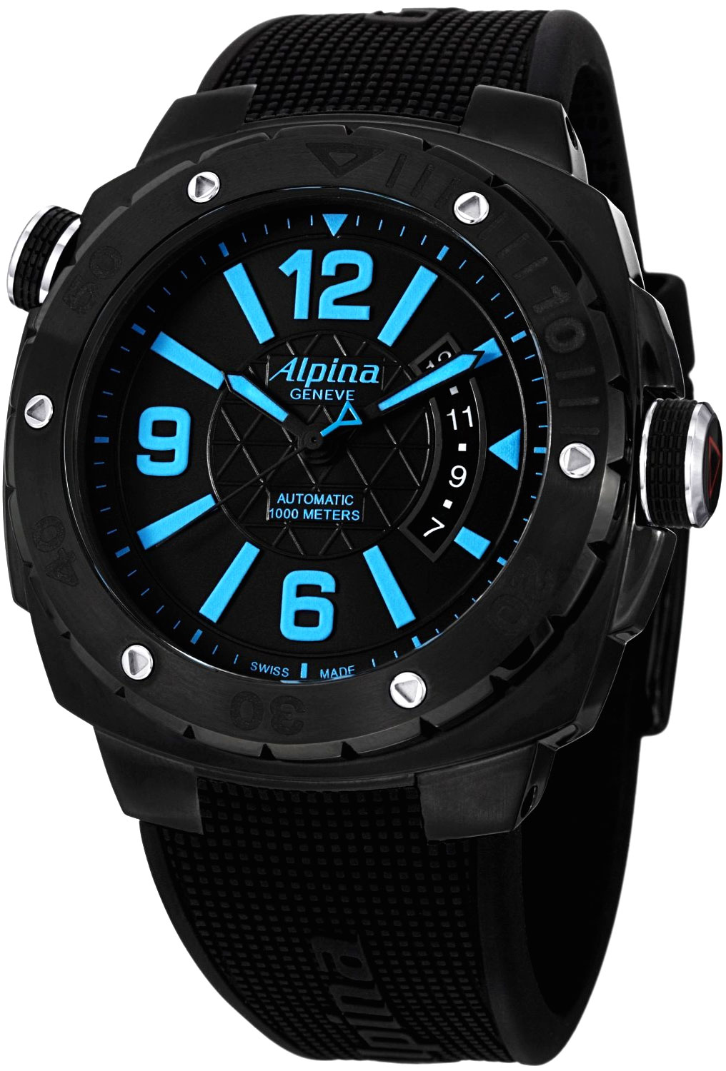 Alpina adventure extreme diver men 39 s watch model al 525lbcd5fbaev6 for Adventure watches