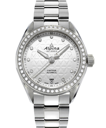 Alpina Comtesse Automatic Ladies Watch Model AL-525STD2CD6B