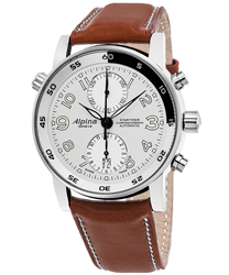 Alpina Startimer Chronograph Automatic Men's Watch Model AL-725LWW4R16BRN