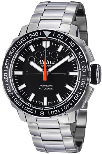Alpina Adventure Extreme Sailing Regatta Timer Mens Wristwatch Model: AL-880LB4V6B