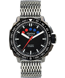 Alpina Adventure Mens Wristwatch Model: AL-880LB4V6B2
