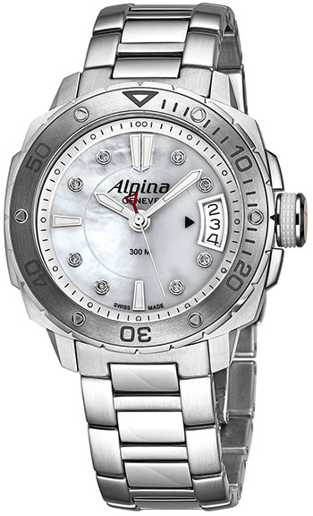 Alpina Seastrong Ladies Watch Model AL240LSD3V6B