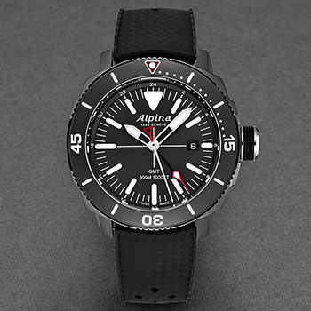 Alpina Seastrong Diver Men's Watch Model AL247LGG4TV6 Thumbnail 2