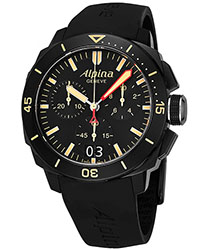 Alpina Seastrong Chronograph Men's Watch Model: AL372LBBG4FBV6