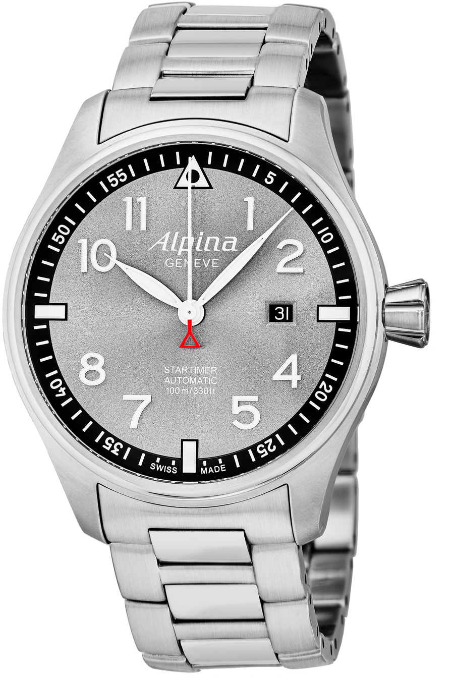 alpina startimer pilot men 39 s watch model al525gb4s6b. Black Bedroom Furniture Sets. Home Design Ideas