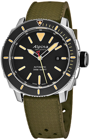 Alpina Seastrong Diver Men's Watch Model AL525LGG4V6