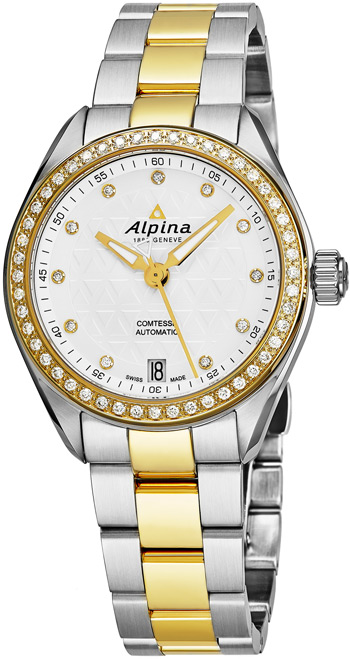 Alpina Comtesse Ladies Watch Model AL525STD2CD3B