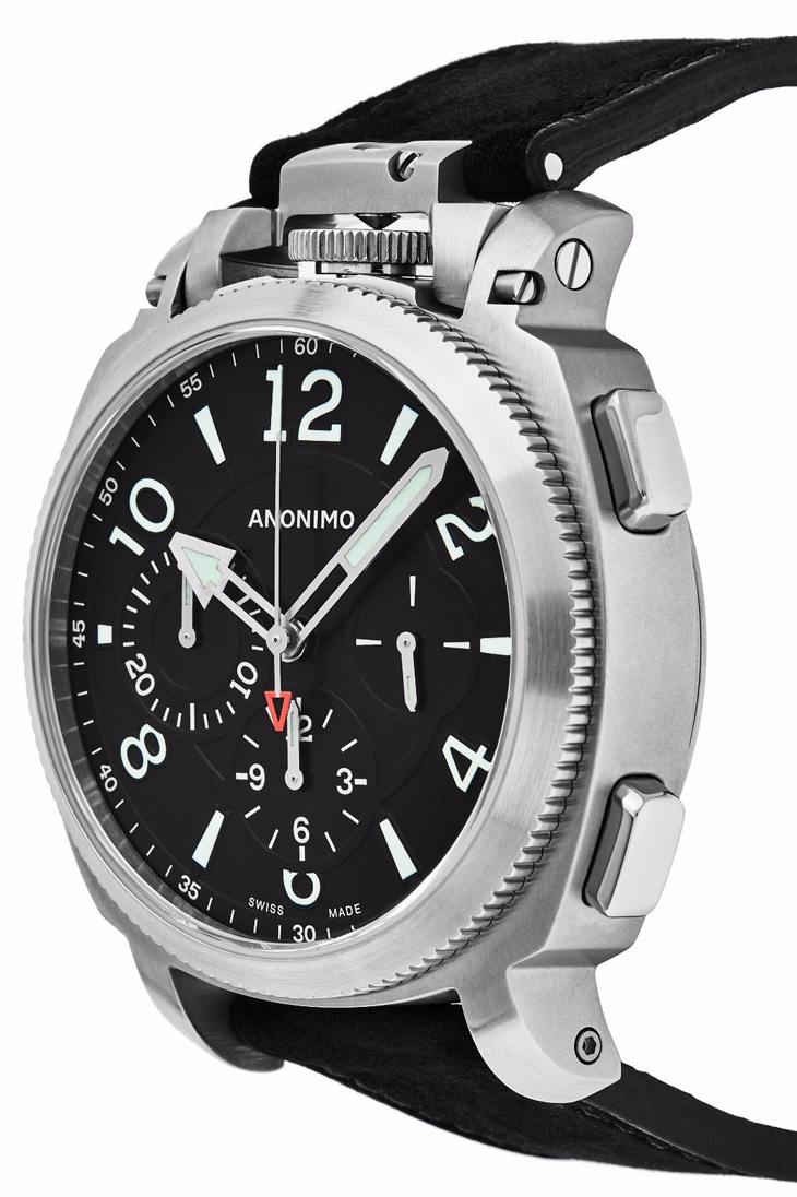 Anonimo Militaire Automatic Men's Watch Model AM.1100.01.002.A01 Thumbnail 3