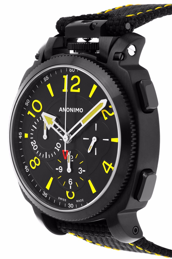 Anonimo Militaire Automatic Men's Watch Model AM.1100.02.004.A01 Thumbnail 2