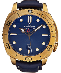 Anonimo Nautilo Men's Watch Model AM100104003A03