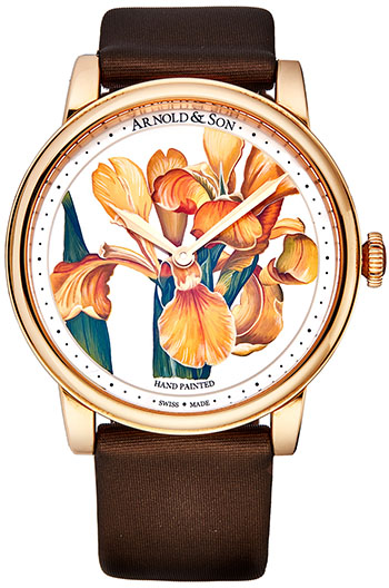 Arnold & Son HM Flowers Ladies Watch Model 1LCAP.MO5AL510A
