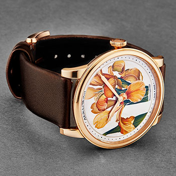 Arnold & Son HM Flowers Ladies Watch Model 1LCAP.MO5AL510A Thumbnail 3