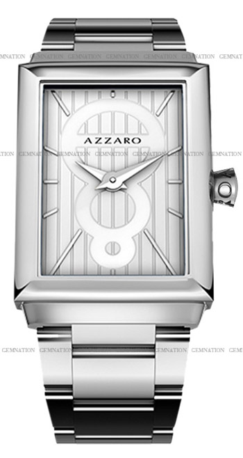 Azzaro Legend Rectangular 2 Hands Mens Wristwatch Model: AZ2061.12AM.000