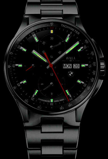 Ball BMW Men's Watch Model CM3010C-SCJ-BK Thumbnail 2