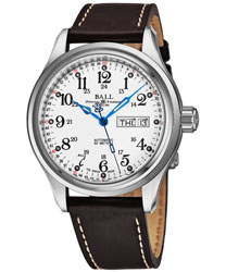 Ball Trainmaster Men's Watch Model NM1058D-L3J-WH