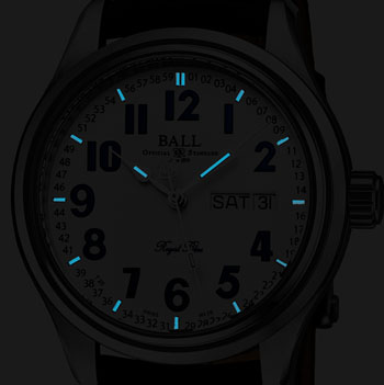 Ball Trainmaster Limited Edition Men's Watch Model NM1058D-LL9J-WH Thumbnail 6
