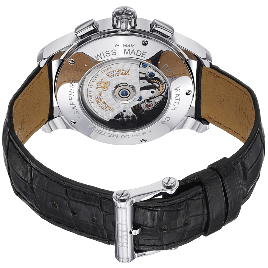 Ball Trainmaster Men's Watch Model CM1010D-LCJ-BK Thumbnail 2