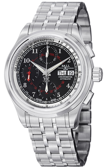 Ball Trainmaster Men's Watch Model CM1010D-SCJ-BK
