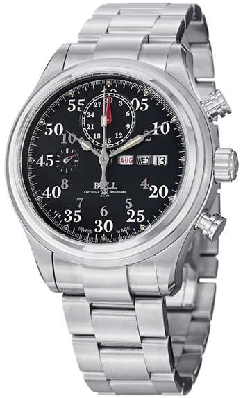 Ball trainmaster racer men 39 s watch model cm1030d s1j bk for Ball watches