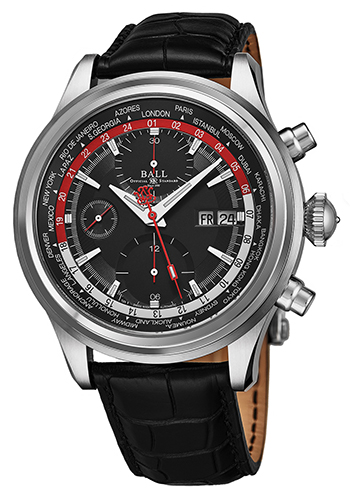 Ball Trainmaster Worldtimer Men's Watch Model CM2052DLL1JBKRD