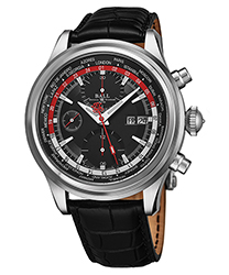 Ball Trainmaster Worldtimer Men's Watch Model: CM2052DLL1JBKRD