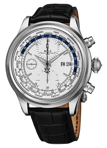 Ball Trainmaster Worldtimer Men's Watch Model CM2052DLL1JSLBE