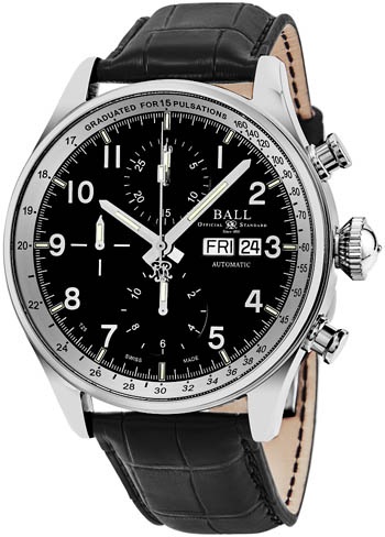 Ball Trainmaster Men's Watch Model CM3038C-LFJ-BK