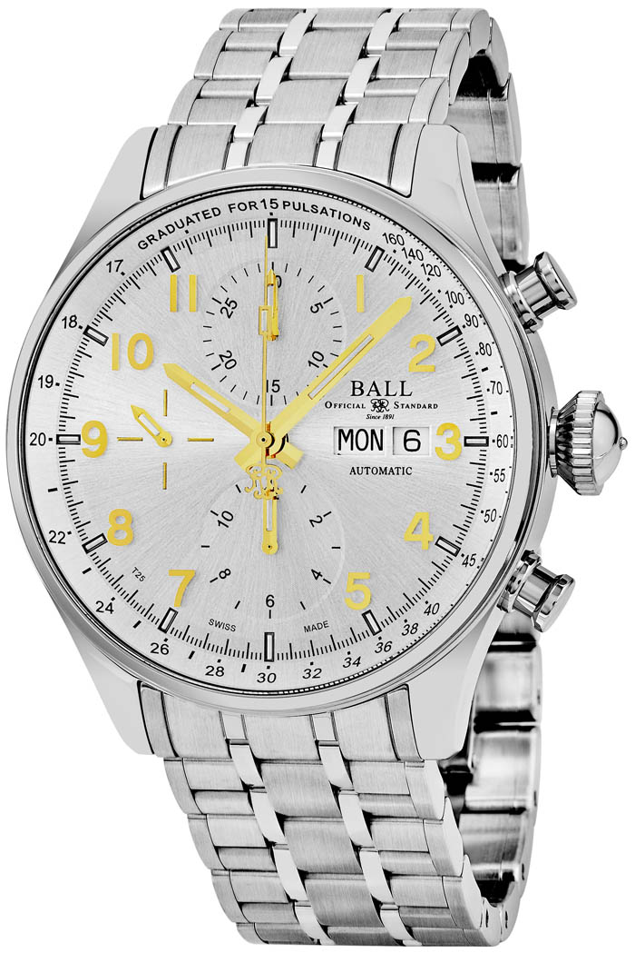 Ball Trainmaster Men's Watch Model CM3038C-SJ-SL Thumbnail 2